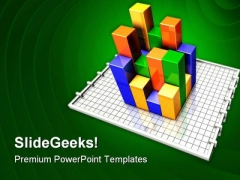 Bar Graph Business PowerPoint Themes And PowerPoint Slides 0711