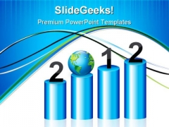 Bar Graph Global PowerPoint Templates And PowerPoint Backgrounds 1211