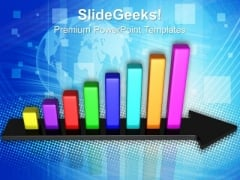 Bar Graph Growth Success PowerPoint Templates And PowerPoint Themes 0712