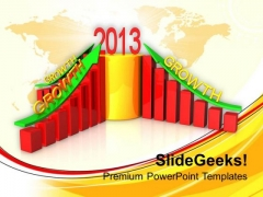 Bar Graph Represents Business Growth Success PowerPoint Templates Ppt Backgrounds For Slides 1212