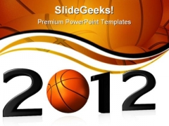 Basketball Sports PowerPoint Templates And PowerPoint Backgrounds 1011