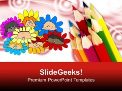 Be An Artist And Creative PowerPoint Templates Ppt Backgrounds For Slides 0613