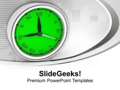 Be Awake And Punctual In Business PowerPoint Templates Ppt Backgrounds For Slides 0413