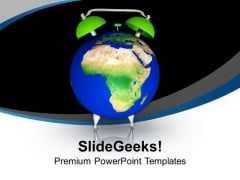Be Aware With Warning Of Global Problems PowerPoint Templates Ppt Backgrounds For Slides 0513