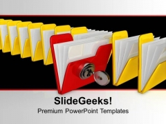 Be Different Concept With Security PowerPoint Templates Ppt Backgrounds For Slides 0113