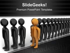 Be Different Leadership PowerPoint Templates And PowerPoint Themes 0512