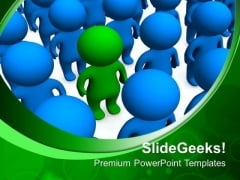 Be Different Leadership PowerPoint Templates And PowerPoint Themes 0712
