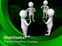 Be Mastermind And Find The Solutions PowerPoint Templates Ppt Backgrounds For Slides 0613