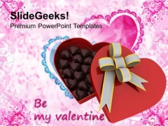 Be My Valentine Gift Celebration PowerPoint Templates Ppt Backgrounds For Slides 0213