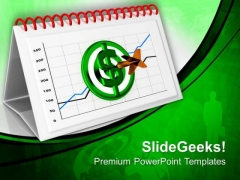 Be Oriented Towards Montly Targets PowerPoint Templates Ppt Backgrounds For Slides 0613