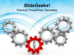 Be The First One To Become Leader PowerPoint Templates Ppt Backgrounds For Slides 0713