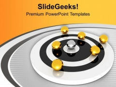 Be The Leader And Get Focused PowerPoint Templates Ppt Backgrounds For Slides 0613