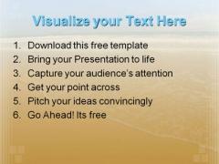 Beautiful Beach PowerPoint Template