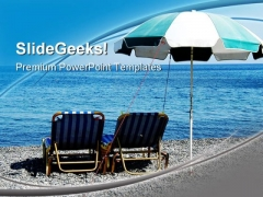 Beach Relax Holidays PowerPoint Templates And PowerPoint Backgrounds 0511