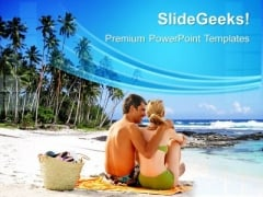 Beach Vacation PowerPoint Templates And PowerPoint Themes 0512