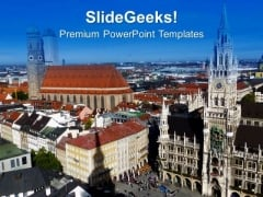 Beautiful City Theme PowerPoint Templates Ppt Backgrounds For Slides 0613