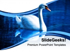 Beautiful Duck Animals PowerPoint Templates And PowerPoint Themes 0512
