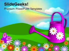 Beautiful Garden Theme Background PowerPoint Templates Ppt Backgrounds For Slides 0613