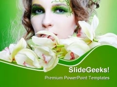Beautiful Girl Fashion PowerPoint Themes And PowerPoint Slides 0311
