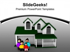 Become A Happy Family PowerPoint Templates Ppt Backgrounds For Slides 0613