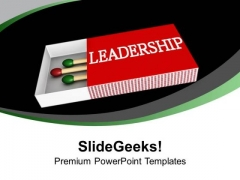 Become A Leader With Quality Skills PowerPoint Templates Ppt Backgrounds For Slides 0413