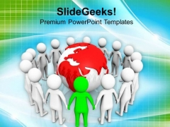 Become A Successful Global Team Leader PowerPoint Templates Ppt Backgrounds For Slides 0813