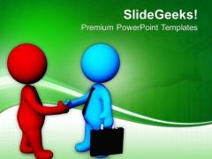 Become The Business Partners PowerPoint Templates Ppt Backgrounds For Slides 0813