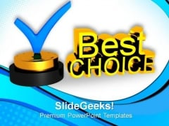 Best Choice Concept PowerPoint Templates And PowerPoint Themes 0812