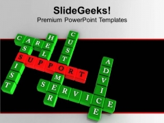Best Terms For Customer Services PowerPoint Templates Ppt Backgrounds For Slides 0413