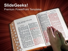 Bible Aglow Education PowerPoint Templates And PowerPoint Themes 0812