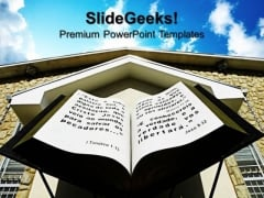 Bible Church Christian PowerPoint Templates And PowerPoint Themes 0712