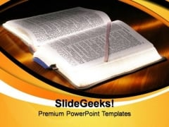 Bible Lessons Christian PowerPoint Templates And PowerPoint Themes 0812