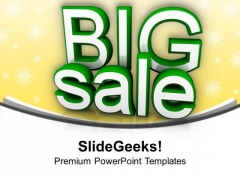 Big Sale Festival Lifestyle PowerPoint Templates Ppt Backgrounds For Slides 1212