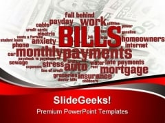Bills Business PowerPoint Backgrounds And Templates 0111