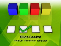 Blind Choice Business PowerPoint Templates And PowerPoint Themes 0712