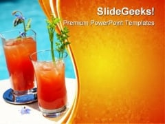 Bloody Mary Cocktail Food PowerPoint Themes And PowerPoint Slides 0411