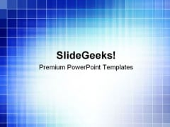 Blue Abstract Background Business PowerPoint Themes And PowerPoint Slides 0611