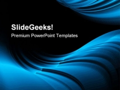 Blue Abstract Background PowerPoint Themes And PowerPoint Slides 0411