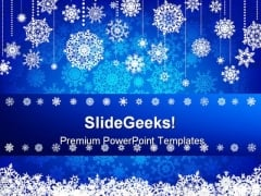 Blue Christmas Abstract PowerPoint Backgrounds And Templates 1210