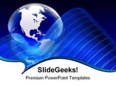 Blue Globe01 Abstract PowerPoint Templates And PowerPoint Backgrounds 0311