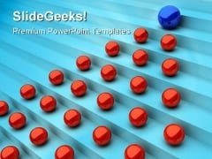 Blue Leadership Business PowerPoint Templates And PowerPoint Backgrounds 0711