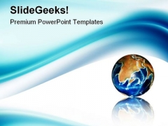 Blue Wave Abstract PowerPoint Templates And PowerPoint Backgrounds 0511