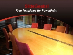 Business Meeting Board Room PowerPoint Template