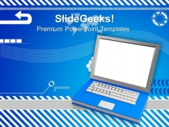 Book Laptop Education PowerPoint Templates And PowerPoint Themes 0812