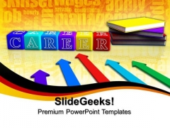 Books And Career Future PowerPoint Templates And PowerPoint Themes 0812