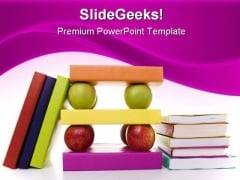 Books Education PowerPoint Backgrounds And Templates 1210