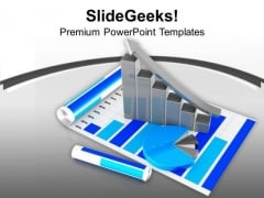 Boom In Growth Explained By Bar PowerPoint Templates Ppt Backgrounds For Slides 0313