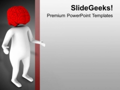 Brain Is Important Part For Human Body PowerPoint Templates Ppt Backgrounds For Slides 0613