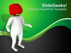 Brain Is The Important Part Of Human Body PowerPoint Templates Ppt Backgrounds For Slides 0613