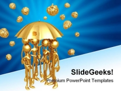Brain Storm People PowerPoint Backgrounds And Templates 0111